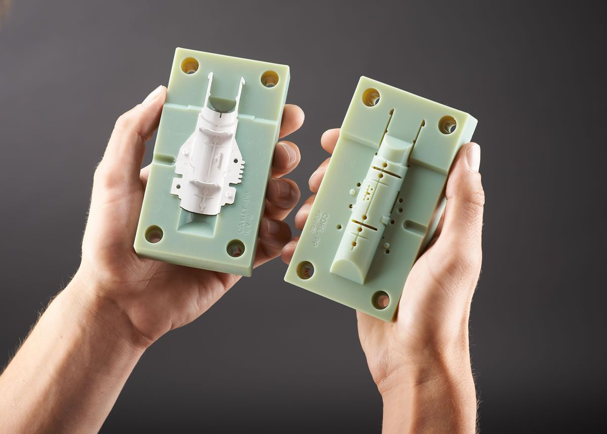 DIY Plastic Molding -- In-House Injection Molding using 3D Printed Molds